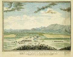 Veeboerderij Queekvallei van de weduwe Zacharias de Beer, oost van de Gamkarivier