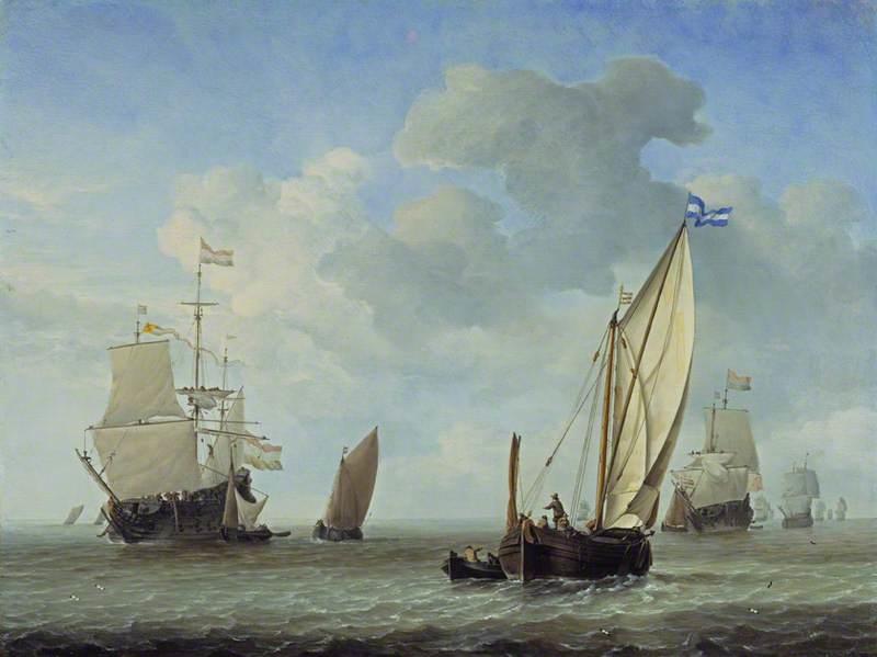 Vessels in a Breeze