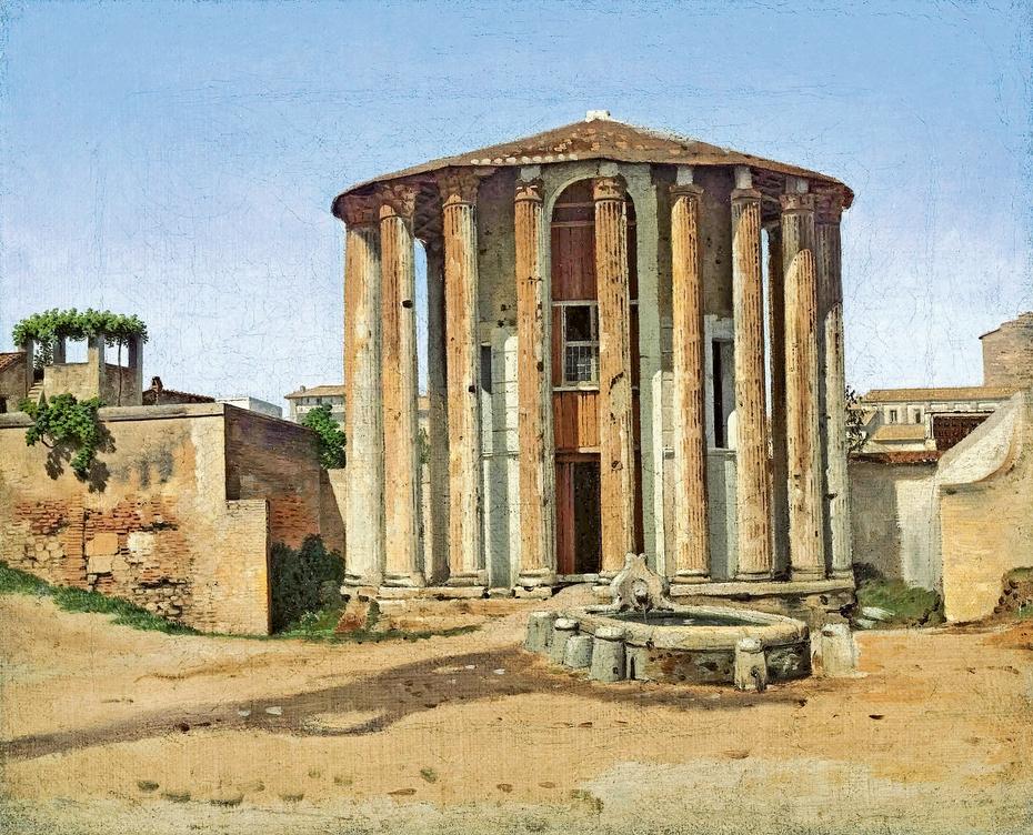 Vesta Temple in Rome