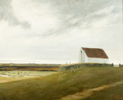 View of the District near the River Karup, Jutland