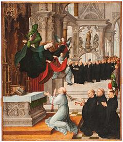 Vision of Saint Ildephonsus