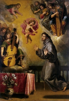 Vision of St Antony of Padua