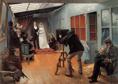 Wedding in the Photographer's Studio