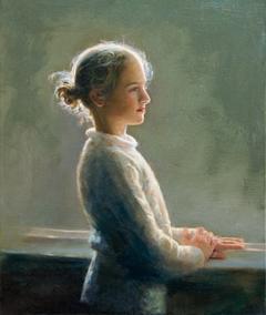 Κορίτσι στο παράθυρο