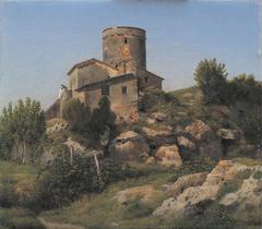 A Building near Tor di Quinto outside Rome