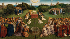 Adoration of the Lamb from the Ghent Altarpiece
