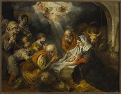 Adoration of the Shepherds (Luke 2:16-17)