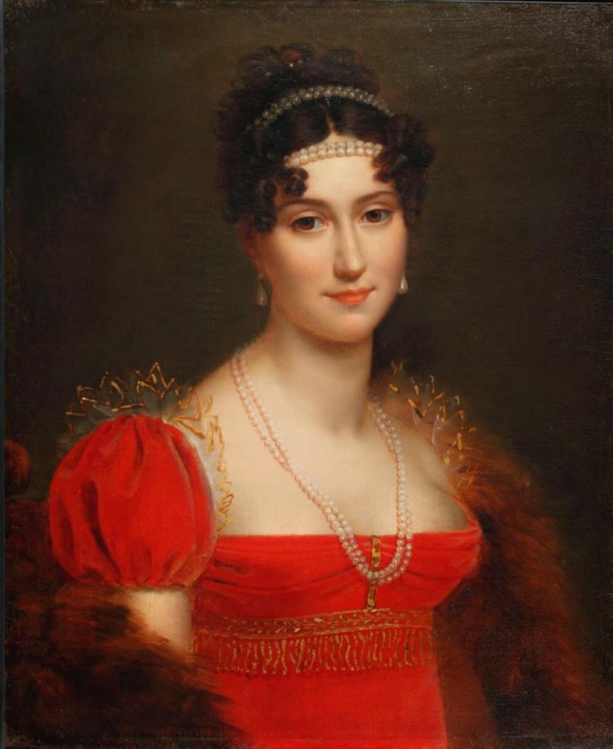 Aglaée Louise Auguié Ney, Duchess of Elchingen, Princess of Moscow (1782-1854)