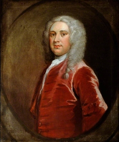 An Unknown Gentleman in a Red Coat