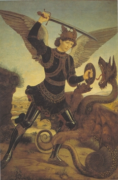 Archangel Michael and the dragon