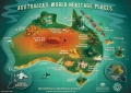 Australia's World Heritage Places Poster