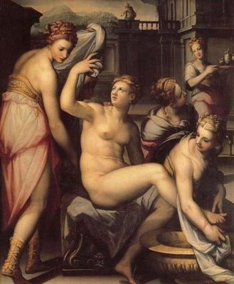 Bathsheba at her Toilette