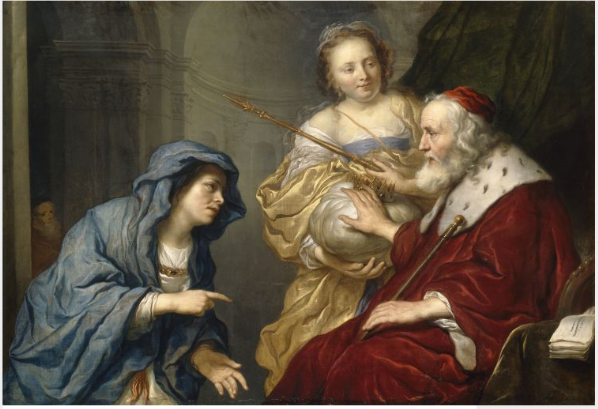 Bathsheba's Appeal to David