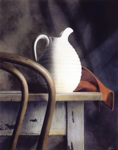 Bent Wood and Pitcher