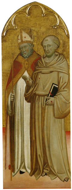 Bishop Saint and Saint Francis of Assisi