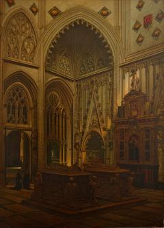 Capilla y sepulcros del condestable de Castilla don Álvaro de Luna y de su mujer doña Juana de Pimentel en la Catedral de Toledo