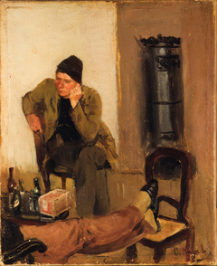 Charles Lundh in conversation with Christian Krohg