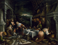 Christ in the House of Mary, Martha, and Lazarus