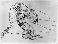 Daikoku (God of Luck) with Radish
