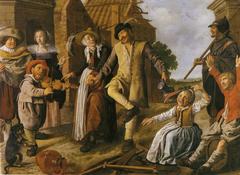 Dance in a Village Street