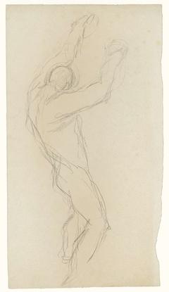 Dansende figuur, naar rechts