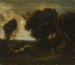 Daphne and Apollo in a Landscape