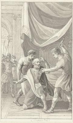 De tachtigjarige Gordianus tot het keizerschap gedwongen