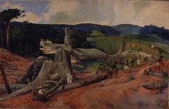 Derrubada na Fazenda Cachoeira - Campinas, 1840