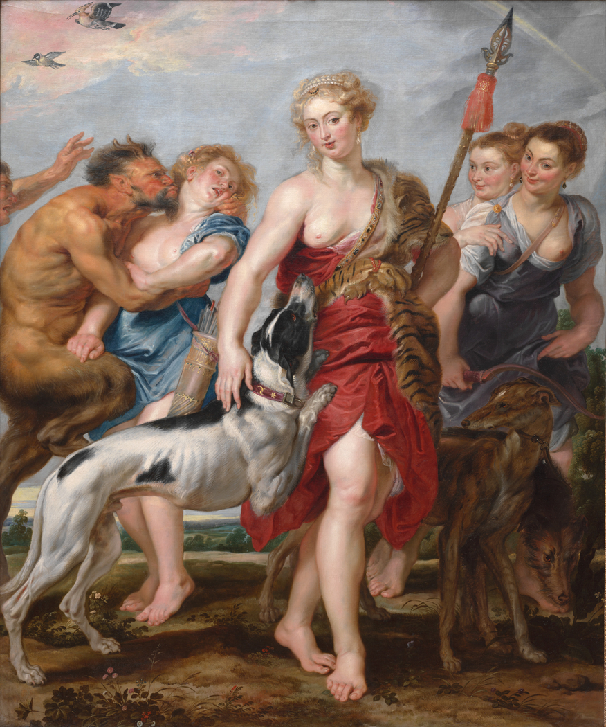 Diana and Her Nymphs Departing for the Hunt