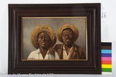 Dois Negrinhos com Chapéu