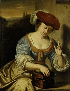 Escaped Bird: Allegory of Chastity