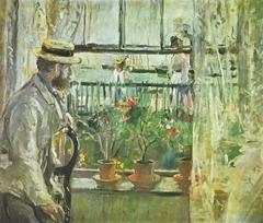 Eugène Manet on Isle of Wight