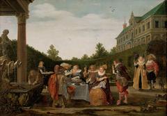 Festmahl im Schlosspark