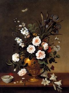Flower Vase and Ceramic Bowl