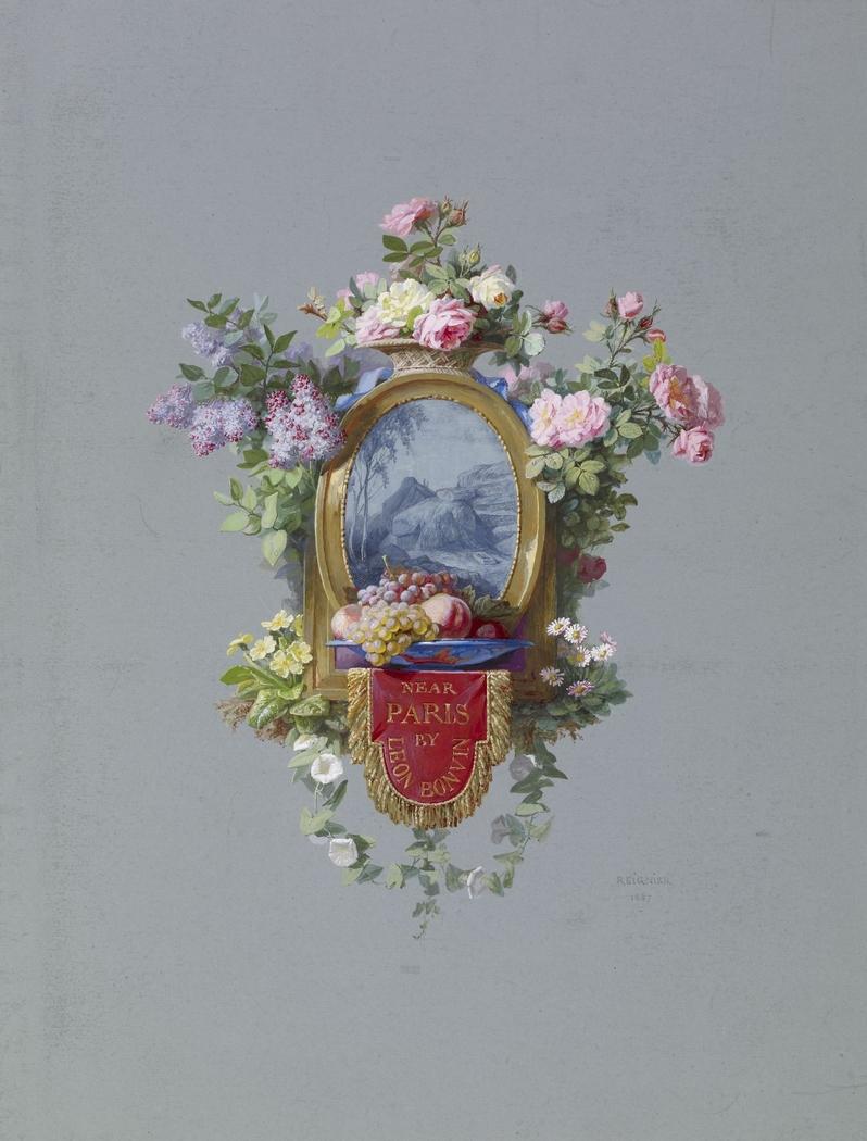 Frontispiece for Bonvin Album