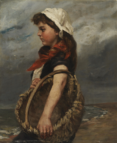 Girl with Basket