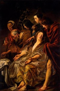 Gli apostoli al sepolcro