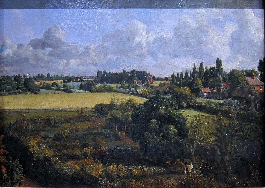 Golding Constable's Vegetable Garden