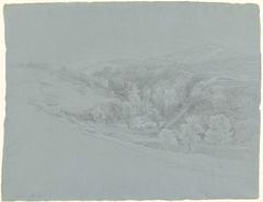 Heuvellandschap bij Marino