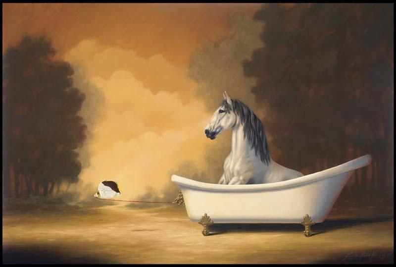 Horse Bath
