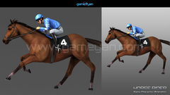 Horse Rider Character Animation