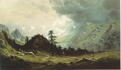 Indian Camp in the Cascades