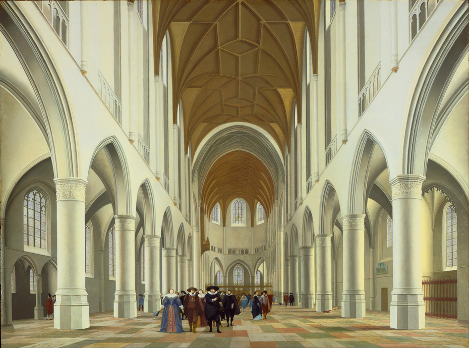 Interior of Saint Bavo, Haarlem