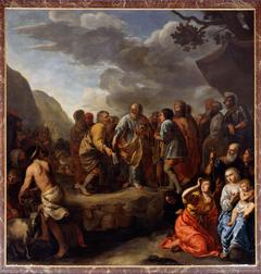 Jethro advising Moses