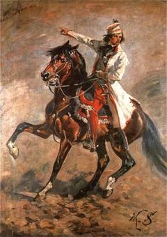 Kościuszko on horseback