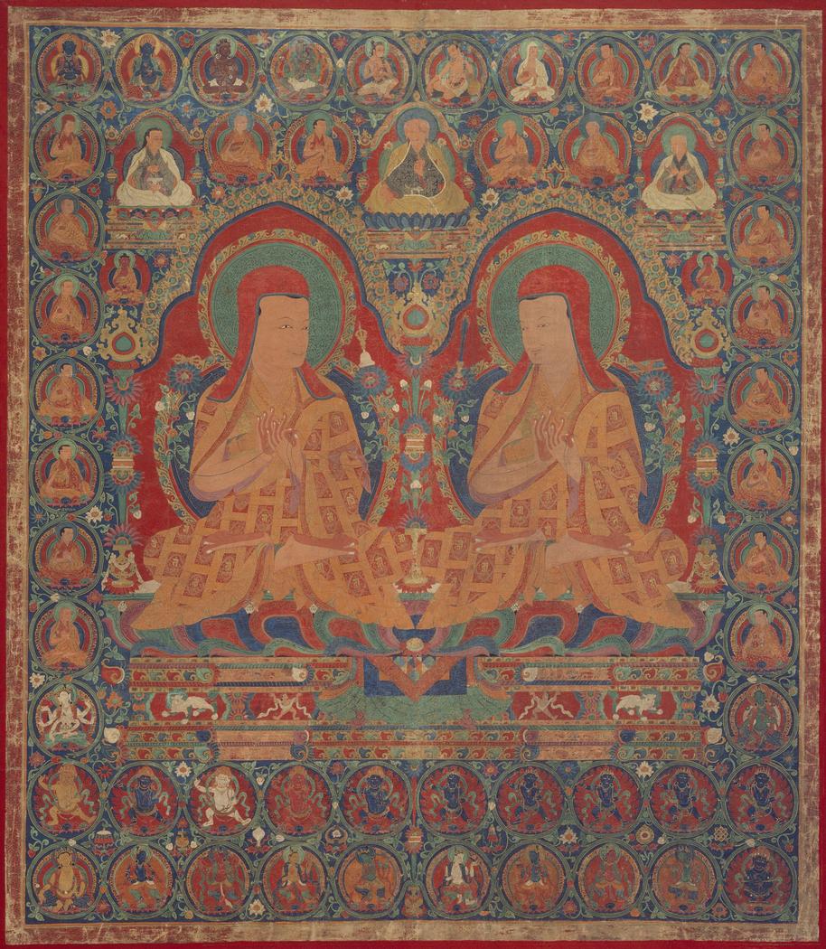 Kunga Wangcuk (1424-1478) and Sonam Senge (1429-1489), The Fourth and Sixth Abbots of Ngor