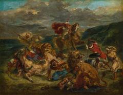 La Chasse aux lions (Lion Hunt)