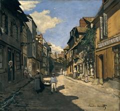 La rue de la Bavolle à Honfleur
