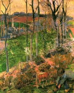 Landscape from Pont-Aven, Brittany