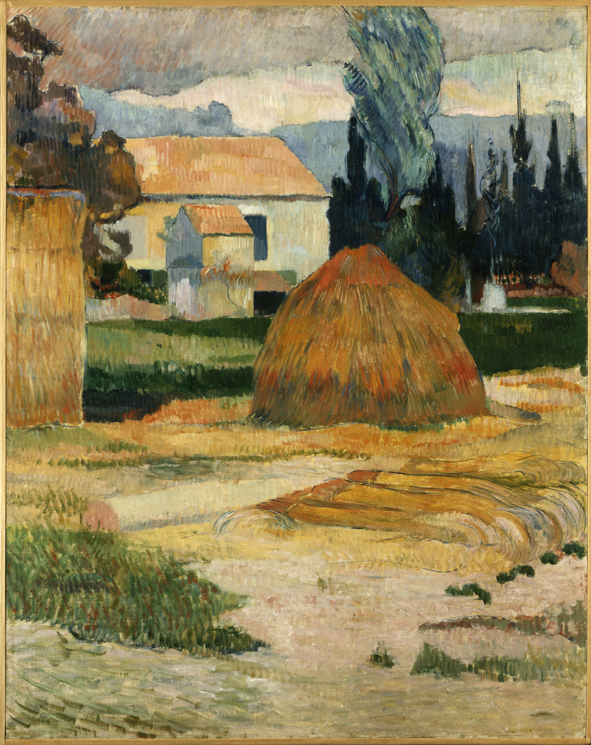 Landscape near Arles